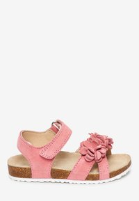 Next - PINK CORKBED FLOWER SANDALS (YOUNGER) - Outdoorsandalen - pink - 4