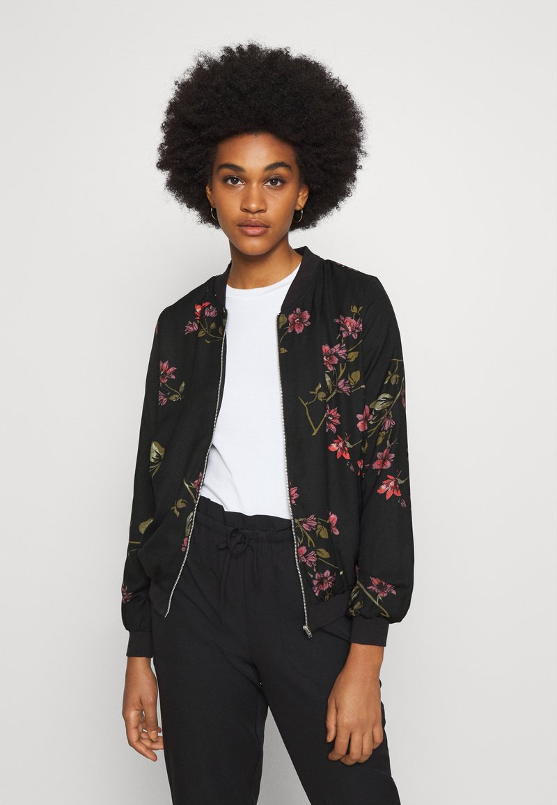 Vero Moda - VMGALLIE  - Bomber Jacket - black/gallie