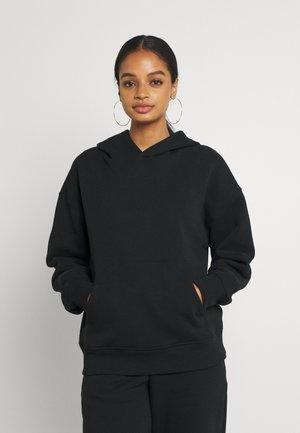 ESSENTIAL FRONT POCKET HOODIE - Sweatshirt - black