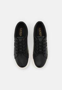 Lauren Ralph Lauren - LOGO WEBBING JANSON - Sneakers basse - black - 4