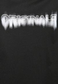 Jack & Jones - JOREDGE TEE CREW NECK - T-shirt med print - black - 2