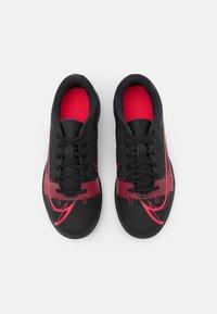 Nike Performance - JR MERCURIAL VAPOR 14 CLUB TF UNISEX - Kopačky na umělý trávník - black/cyber - 3