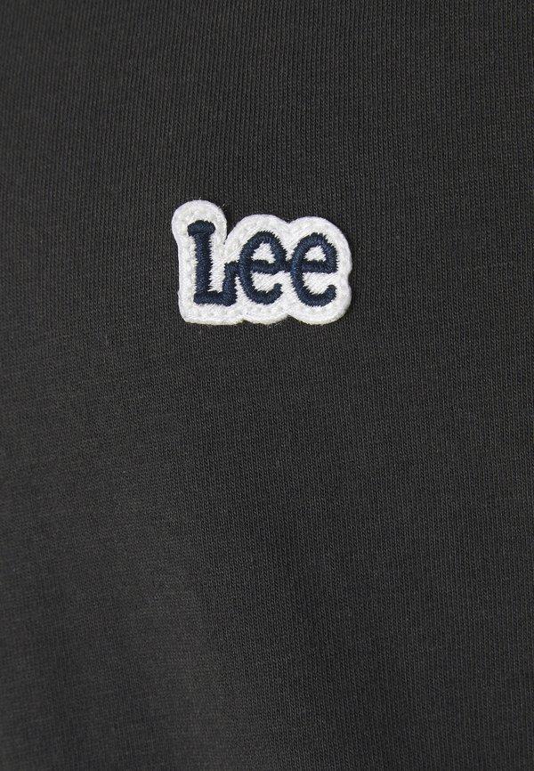 Lee PATCH LOGO TEE - T-shirt basic - washed black/czarny Odzież Męska QAJJ