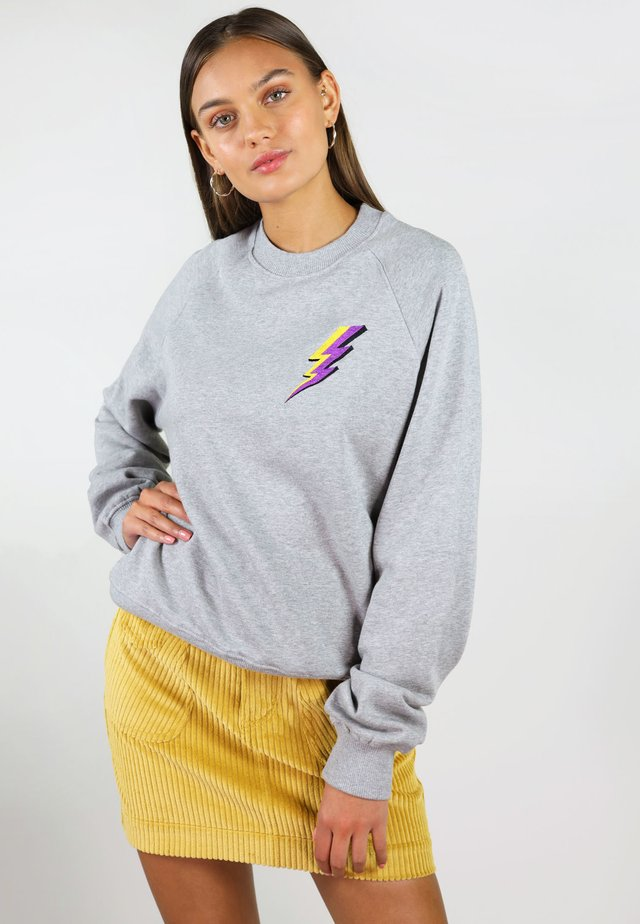THUNDER - Sweatshirt - grey