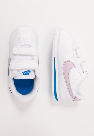 CORTEZ BASIC  - Trainers - white/iced lilac/soar/metallic silver