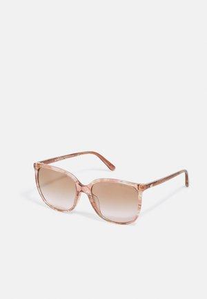 Sonnenbrille - rose transparent