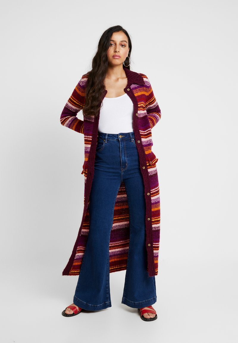 House of Holland - STRIPE CARDIGAN - Cardigan - pink multi