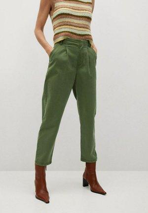 MAURO - Pantalon classique - kaki