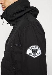 Alessandro Zavetti - SIVELILI HYBRID WINDRUNNER - Lehká bunda - black - 3