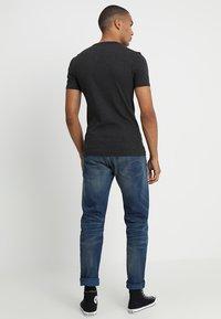 G-Star - DAPLIN - Print T-shirt - black heather - 2