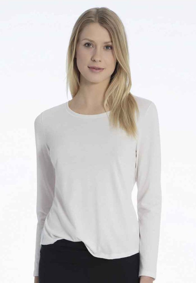 Pyjama top - leisure white