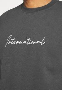 New Look - PIPED  - Sweatshirt - dark grey - 4