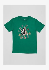 Volcom - FIZZ STONE BSC SS - Print T-shirt - synergy green - 0