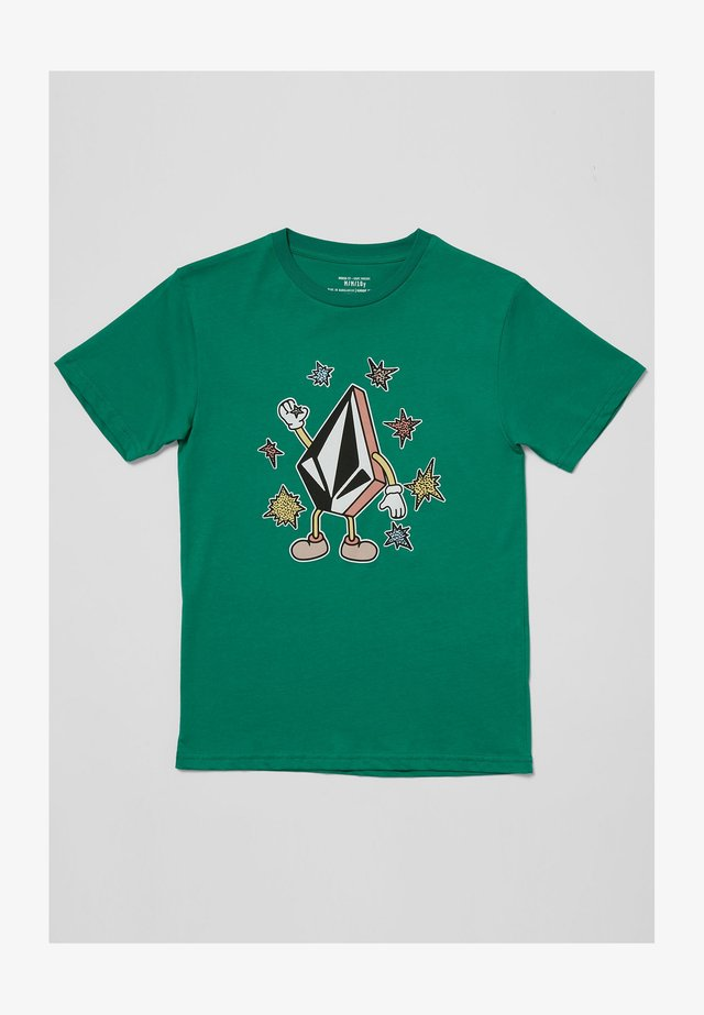 FIZZ STONE - BLANC - T-shirt print - synergy_green