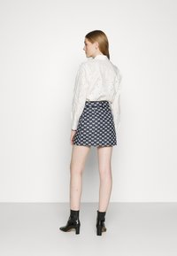 maje - JONALA - Mini skirt - nœuds marine - 2