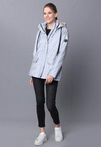 Felix Hardy - Winter jacket - grey reflector - 1