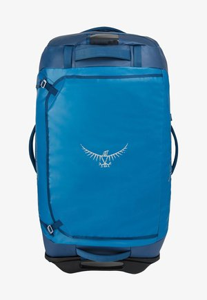 Wheeled suitcase - kingfisher blue