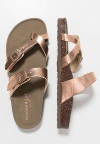 Madden Girl - BRYCEEE - T-bar sandals - rose gold - 3