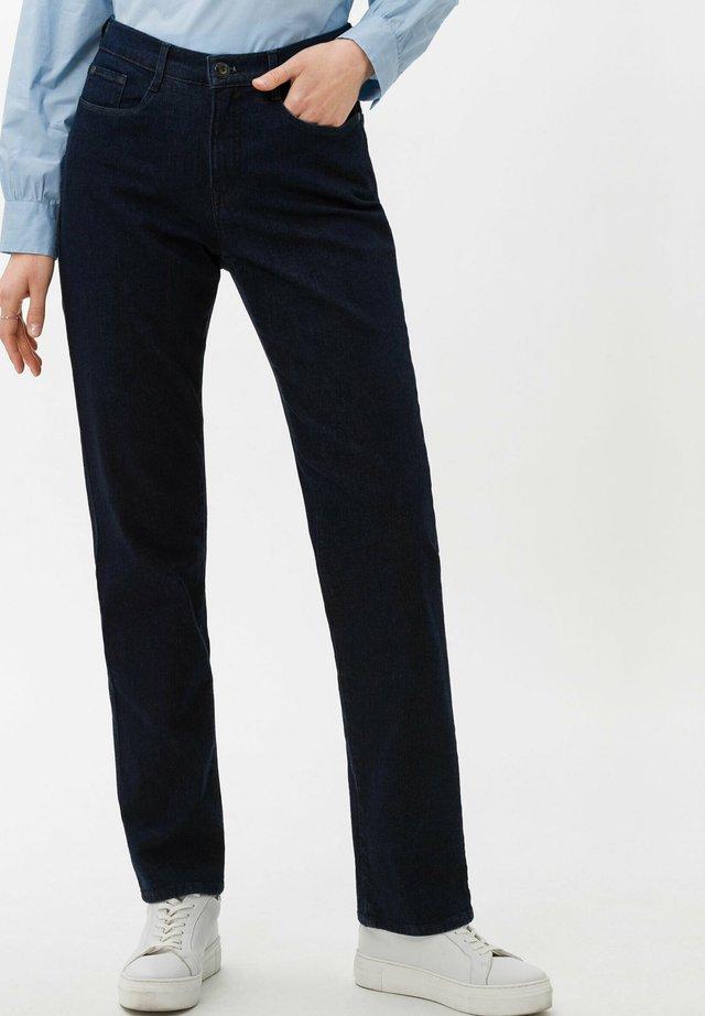 STYLE CAROLA - Jeans Straight Leg - dark blue