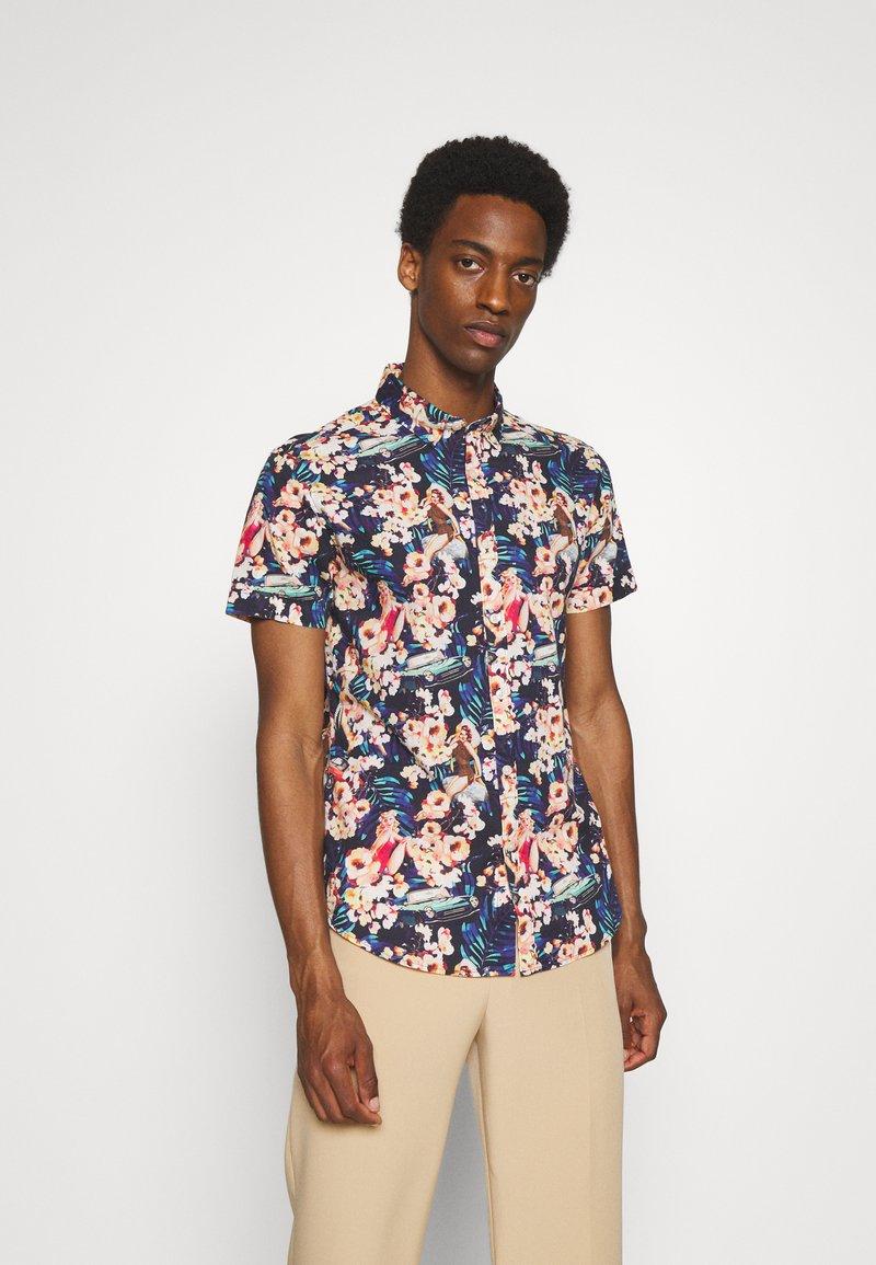 Springfield - PIN UP HAW PRINT DIGITAL - Skjorta - multicoloured