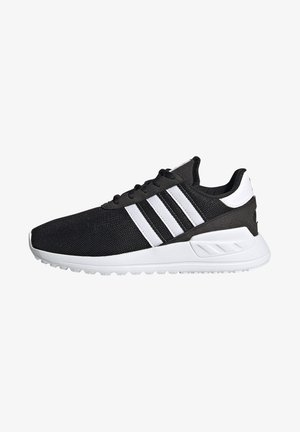 LA TRAINER LITE SHOES - Matalavartiset tennarit - core black/ftwr white/core black