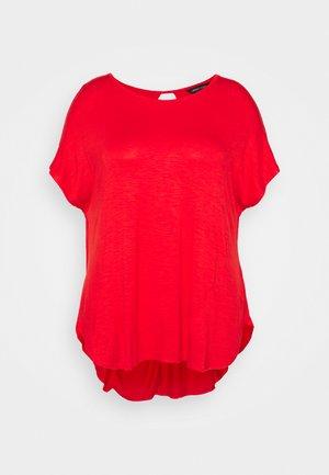 TWIST BACK DETAIL - T-paita - bright red