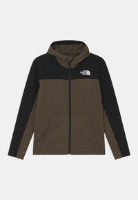 The North Face - SLACKER FULL ZIP HOODIE UNISEX  - Zip-up hoodie - green/black - 0
