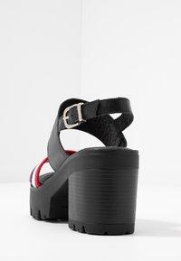 mtng - SABA - Platåsandaletter - black - 5