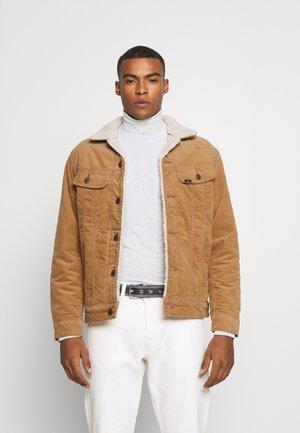 SHERPA JACKET - Light jacket - tobacco brown