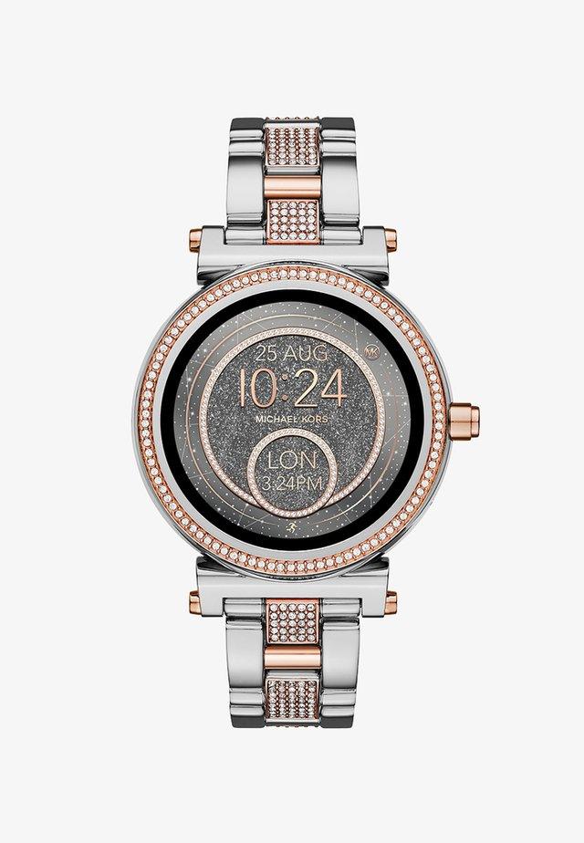 SOFIE - Orologio - silver-coloured/roségold-coloured