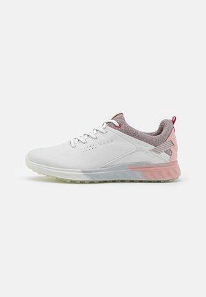 THREE - Chaussures de golf - white/silver pink