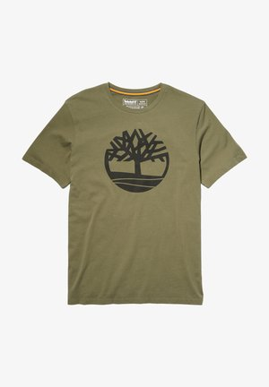 T-shirt z nadrukiem - grape leaf