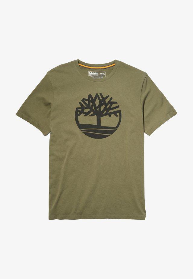T-shirt print - grape leaf