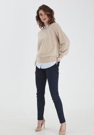 Sweatshirt - beige melange