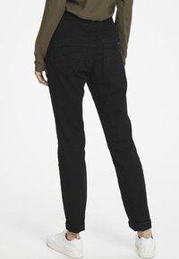 Cream - LOTTECR - Slim fit jeans - pitch black - 2