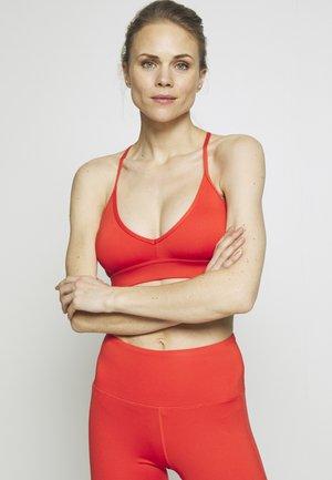 STRAPPY BACK BRA - Sports bra - red