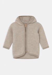 Huttelihut - JACKIE JACKET EARS UNISEX - Fleece jacket - camel - 0