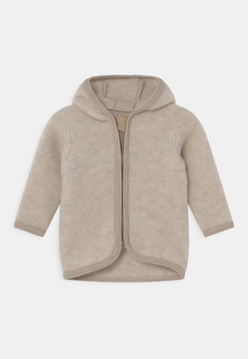 Huttelihut - JACKIE JACKET EARS UNISEX - Fleece jacket - camel