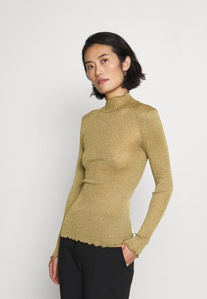 TURTLENECK REGULAR - Svetr - olive shine
