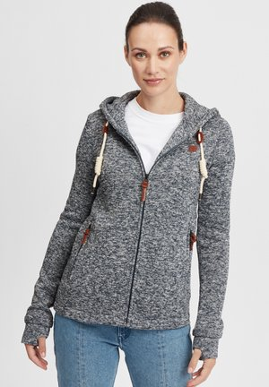 THORY - Fleecová bunda - dark grey
