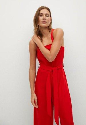 Jumpsuit - rosso