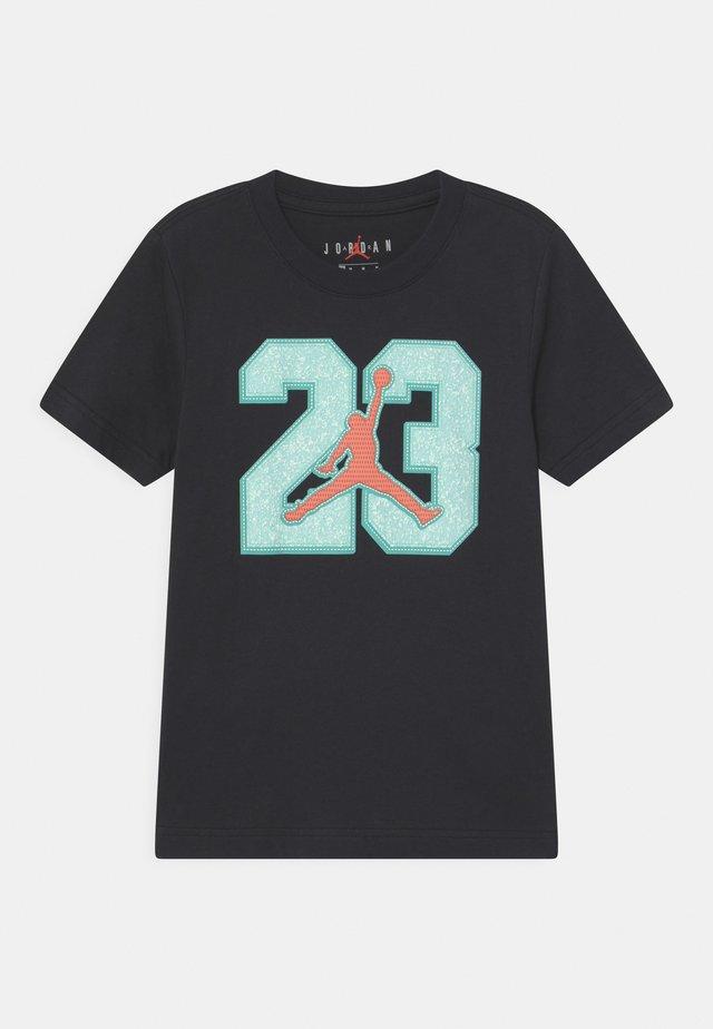 GAME TIME - T-shirt print - black