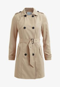 Vila - VITHREE LONG - Trenchcoat - soft camel - 5