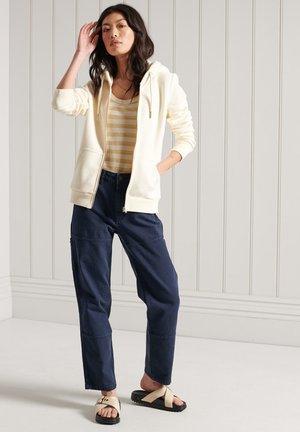 veste en sweat zippée - rodeo white