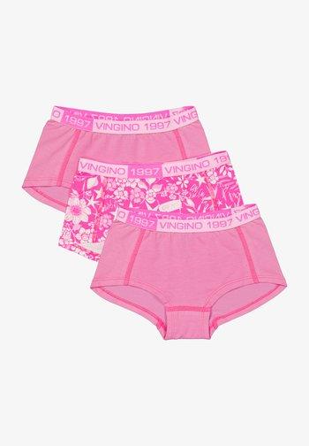 Pants - neon pink