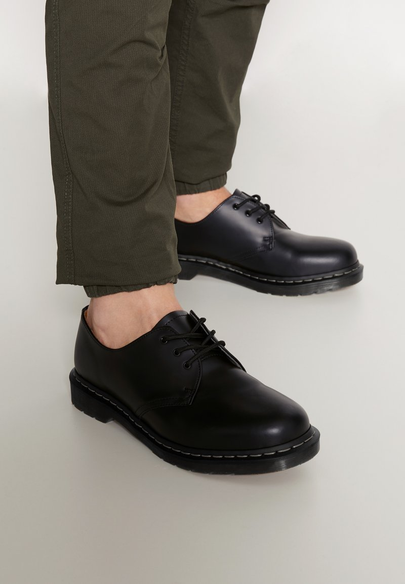 Dr. Martens - 1461 - Nauhakengät - black smooth