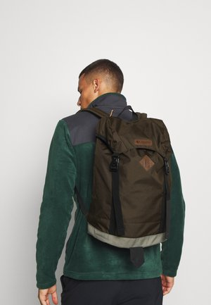 CLASSIC OUTDOOR 25L DAYPACK UNISEX - Rucksack - olive green/stone green