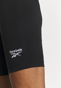 Reebok - BIKE SHORT - Tights - black - 4