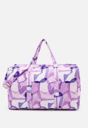 LEISURE BAG PRINT UNISEX - Torba sportowa - lilac