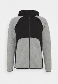 Puma - DIME JACKET - Training jacket - medium gray heather/black - 0